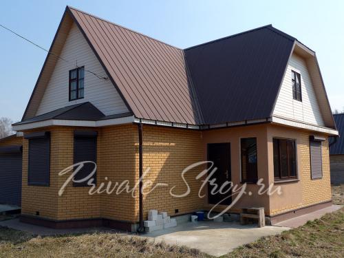 Дом 8 на 6 из керамзитобетона малощебеночные бетоны